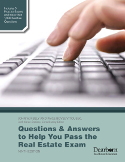 Questions and Answers To Help You Pass The Real Estate Exam